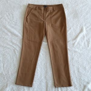 Eileen Fisher | Tan Slim Straight Leg Pants